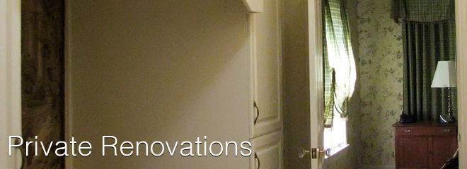 Private Renovations